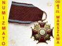 Złoty Krzyż Zasługi PRL + Oryginalne Etui