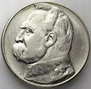 10 zł złotych 1934 Józef Piłsudski ORZEŁ ZWYKŁY