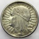 2 zł złote 1933 Głowa kobiety