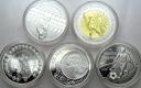 2006 LOT 5 x 10 zł Niemcy Statut Głowa kobiety