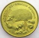 2 zł, złote 1996 Jeż Jeże