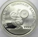 200000 zł złotych 1991 Barcelona ciężary