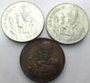 LOT 3 x 10000 zł 1987 Jan Paweł II INWESTUJ SREBRO