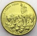 2 zł, złote 1999 Wilk Wilki