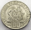 100 zł 1966 Mieszko Dąbrówka Millenium