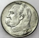 5 zł złotych 1934 Józef Piłsudski ORZEŁ ZWYKŁY