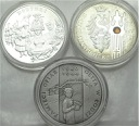 2004 4 x 20 zł złotych Senat Dożynki Getto