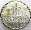 100000 zł złotych 1990 Solidarność TYP A