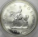 Kanada 1 Dolar 1973 SREBRO