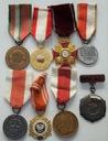 LOT 8 x Odznaczenia Order Medal Polska