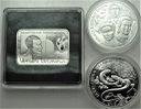 2009 LOT 3 x 20 zł złotych Strzemiński Jaszczurka