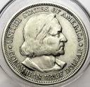 USA 1/2 Dolara SREBRO 1892 Wystawa Kolumba
