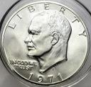 USA 1 dolar One Dollar 1971 Eisenhower SREBRO