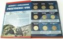 Album / Klaser + Monety 1 dolar Prezydenci USA