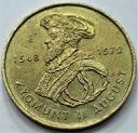 2 zł, złote 1996 Zygmunt II August