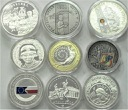2004 LOT 9 x 10 i 20 zł zł Senat Dożynki ASP Ateny