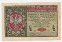 1917 1/2 mkp pół marki polskiej seria B Generał