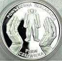 10zł złotych 1998 Deklaracja Praw Człowieka PIĘKNA