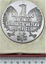Medal Leniono Warszawa Berlin XXX r. LWP