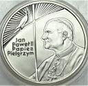 10 zł złotych 1999, Jan Paweł II Papież Pielgrzym