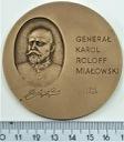 Medal Generał Karol Roloff Miałowski