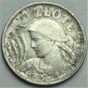 2 zł złote 1924 Kobieta i kłosy, żniwiarka, róg