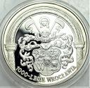 10 zł, złotych 2000 1000 lecie Wrocławia PIĘKNA