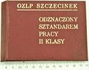 Medal Sztandar Pracy OZLP Szczecinek