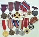 LOT 12 x Odznaczenie Order Medal Polska