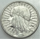 2 zł złote 1932 Głowa kobiety ŁADNA