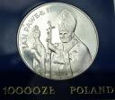 10000 zł złotych 1987 Jan Paweł II