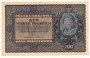 1919 100 Sto Marek Polskich ID Serja L