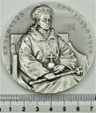 Medal Kazimierz Jagiellończyk BIAŁY METAL