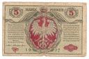 1917 5 mkp marek polskich seria A Polskiej