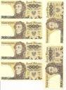 LOT 6 x 500 zł złotych Tadeusz Kościuszko