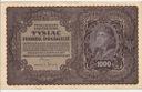 1919 1000 Tysiąc Marek Polskich II Serja BJ