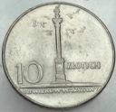 10 zł złotych 1966 MAŁA Kolumna Zygmunta