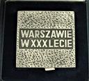 Medal Warszawie w XXX Lecie