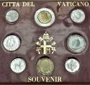 Zestaw monet Watykan 1991 Jan Paweł II