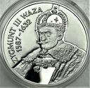 10 zł złotych 1998 Zygmunt III Waza POPIERSIE
