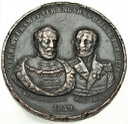 Medal 1849 Lajos Kossuth i Józef Bem Węgry RZADKI