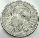 10 zł złotych 1932 Głowa kobiety, babka, Polonia