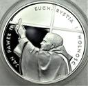 10 zł złotych 1997 Jan Paweł II Eucharystia PIĘKNA