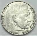 2 marki 1939 G Hindenburg SREBRO