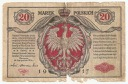 1917 20 mkp marek polskich seria A Generał