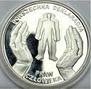 10 zł złotych 1998 Deklaracja Praw Człowieka