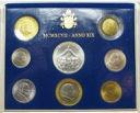 Zestaw monet Watykan 1997 z AG Jan Paweł II