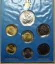 Zestaw monet Watykan 1987 z AG Jan Paweł II