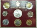 Zestaw monet Watykan 1998 z AG Jan Paweł II