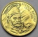 2 zł, złote 1997 Stefan Batory